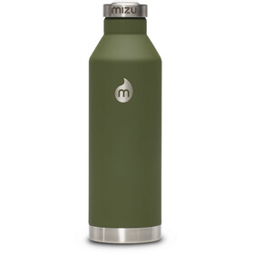 MIZU V8 Insulated Bottle with Steel Cap 800ml Soft Touch Army Green LE